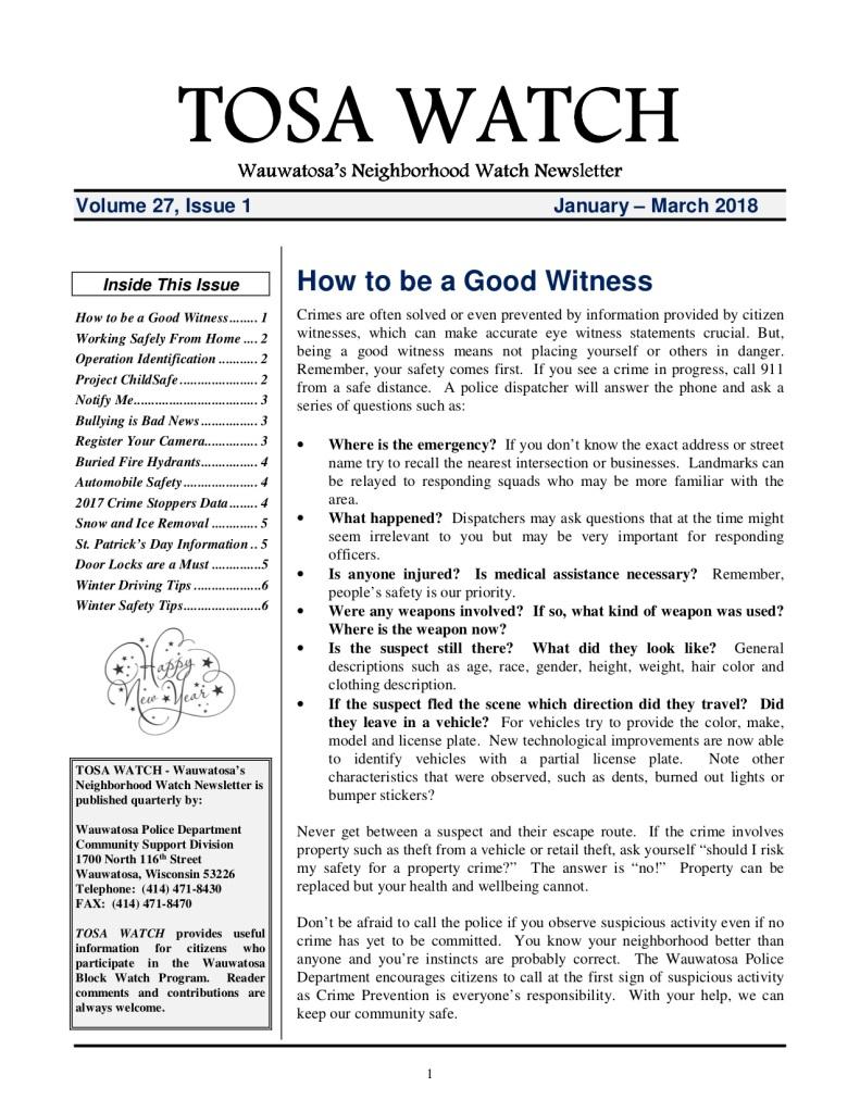 News  Page   Pabst Park Neighborhood Association