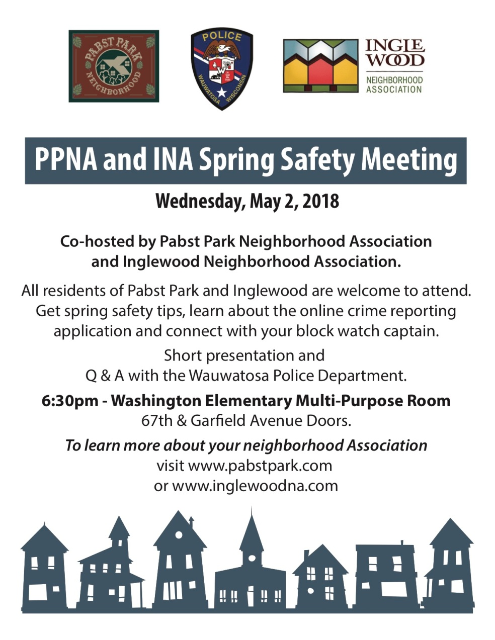 Sping Safety Meeting FLYER